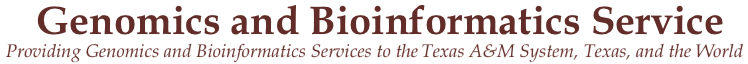 Genomics & Bioinformatics Service